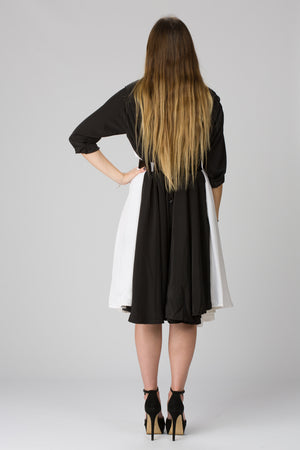 Shunka - Black/White - PROJECT 6, modest fashion