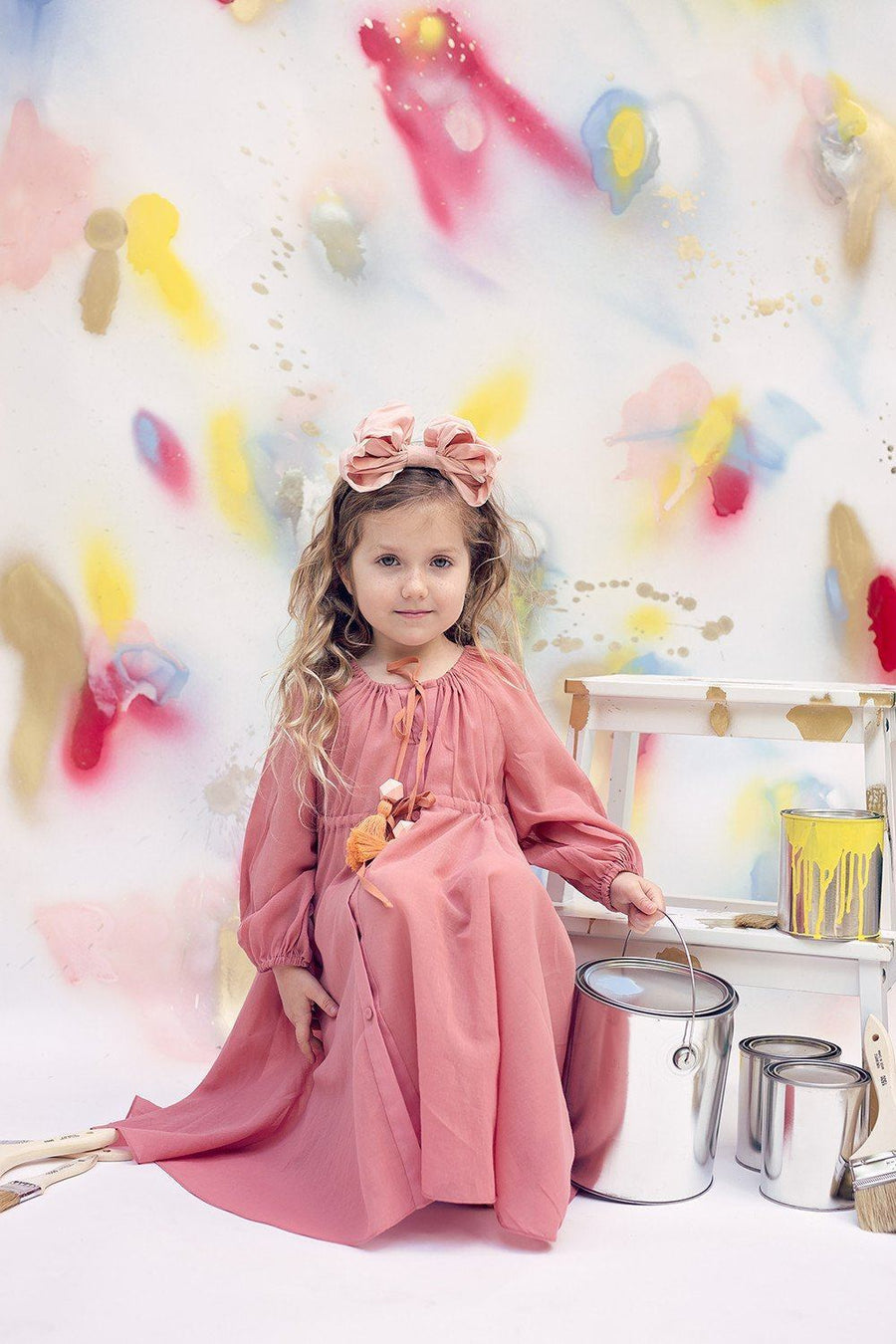 Baby Doll Center - Blush - PROJECT 6, modest fashion