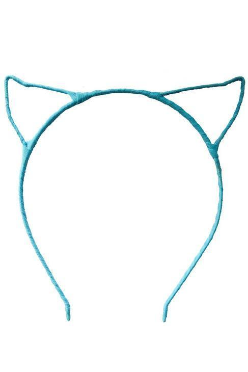 Cat Ears - Blue - PROJECT 6, modest fashion