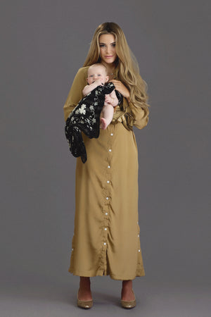 Hiro - Gold Crepe - PROJECT 6, modest fashion