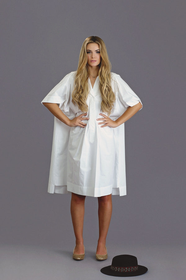 Oka - White - PROJECT 6, modest fashion