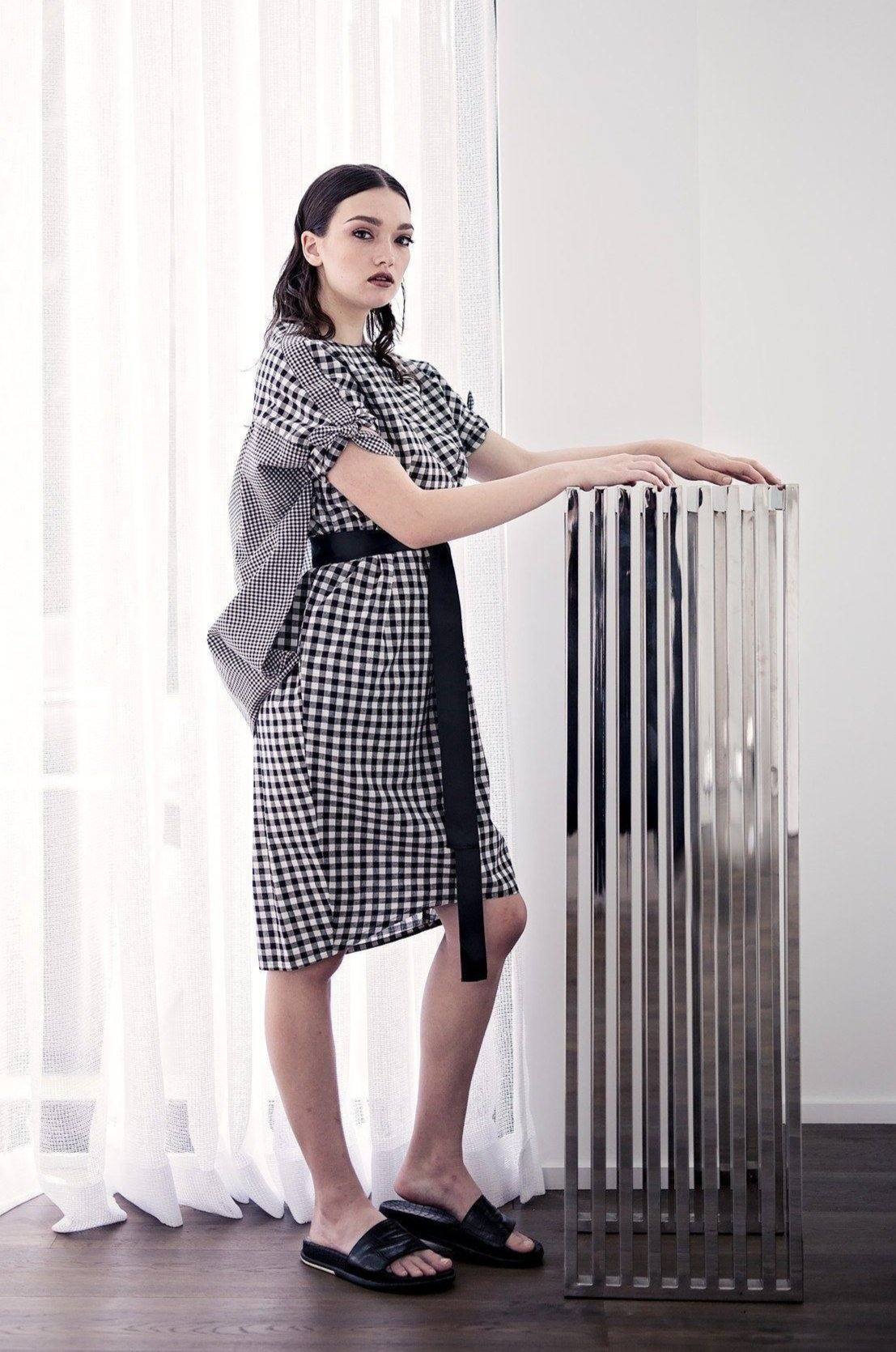 Kenji - Gingham - PROJECT 6, modest fashion