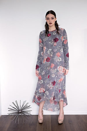 Ume - Pink Floral - PROJECT 6, modest fashion