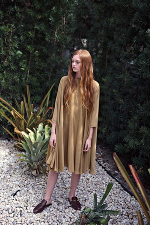 Shunka - Gold Crepe PREORDER - PROJECT 6, modest fashion