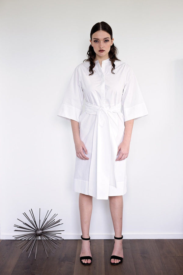 Saki - White - PROJECT 6, modest fashion