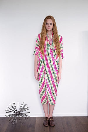 Miki - Hot Colors Stripe - PROJECT 6, modest fashion