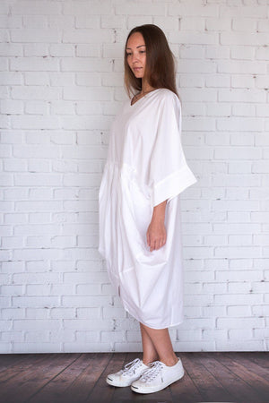 Akari - White - PROJECT 6, modest fashion