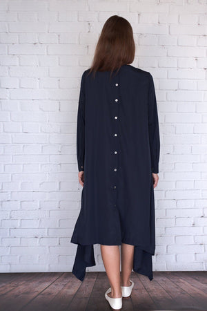 Botan - Navy Crepe - PROJECT 6, modest fashion