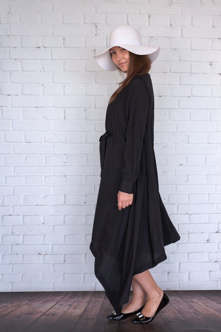 Botan - Black Crepe - PROJECT 6, modest fashion