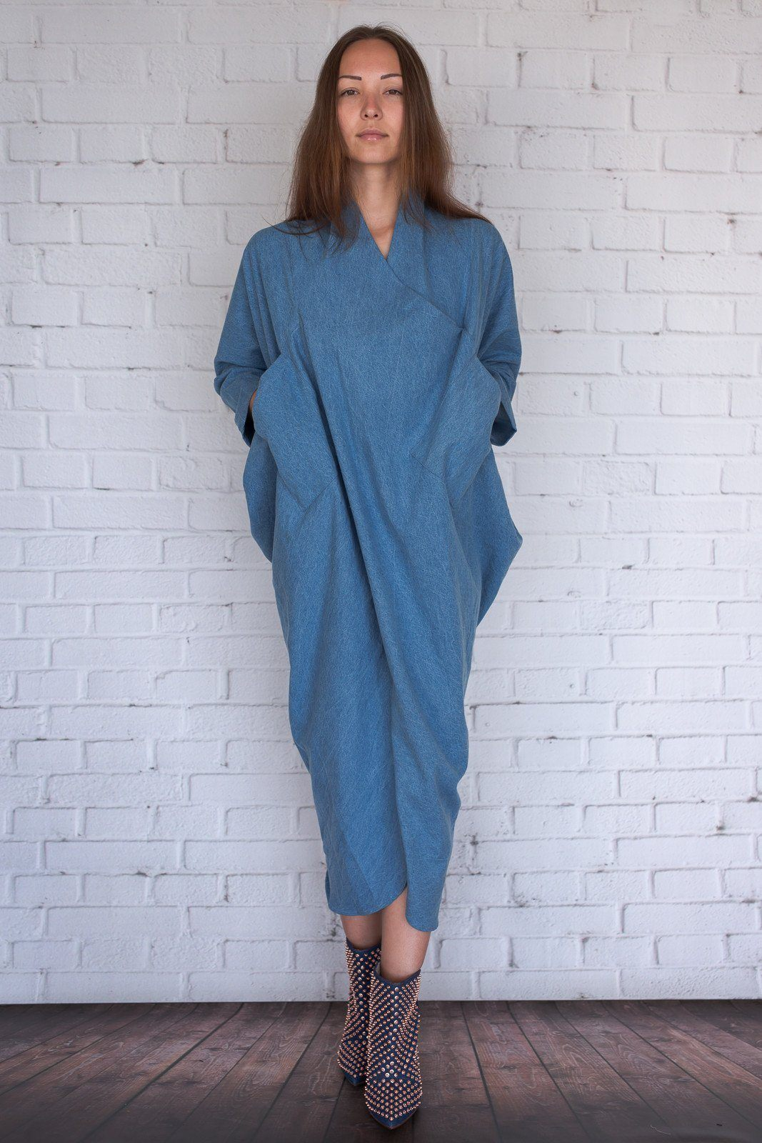 Miki - Denim - PROJECT 6, modest fashion