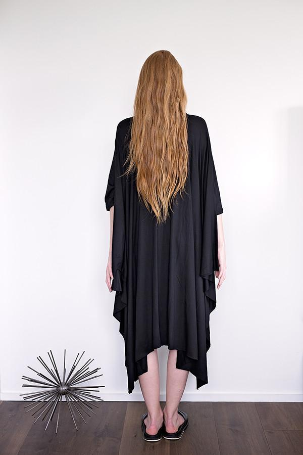 Momo - Black Jersey - PROJECT 6, modest fashion