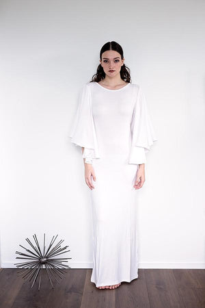 Suzu - White - PROJECT 6, modest fashion