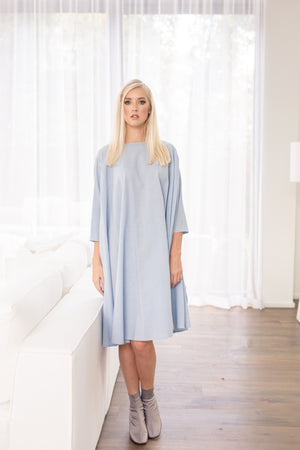 Shunka - Chambray - PROJECT 6, modest fashion