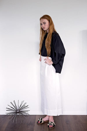 Karin - Black Crepe - PROJECT 6, modest fashion