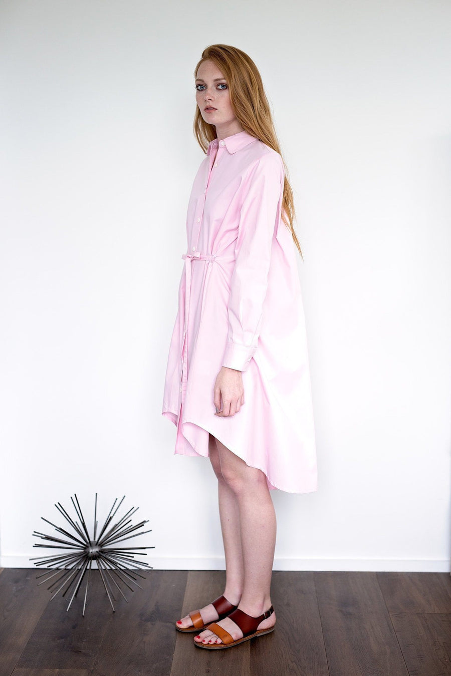 Maaya Short - Ballerina Pink Poplin - PROJECT 6, modest fashion