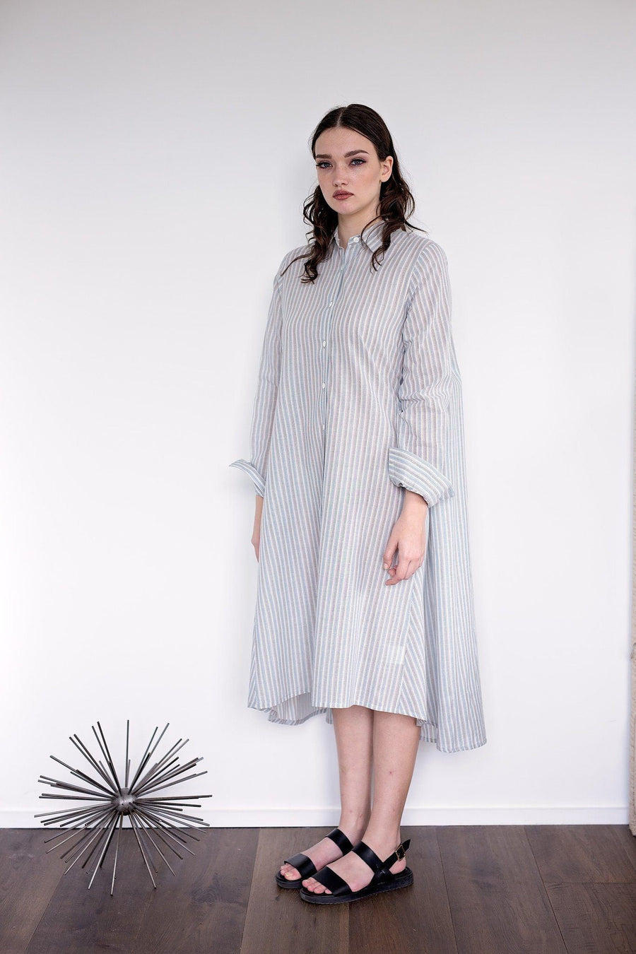 Maaya Medium - Blue/Stripe - PROJECT 6, modest fashion
