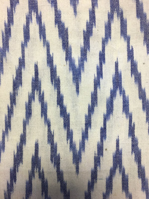 Miki - Cobalt & Ivory Zig Zag - PROJECT 6, modest fashion