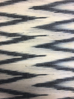 Miki - Black & Ivory Zig Zag - PROJECT 6, modest fashion