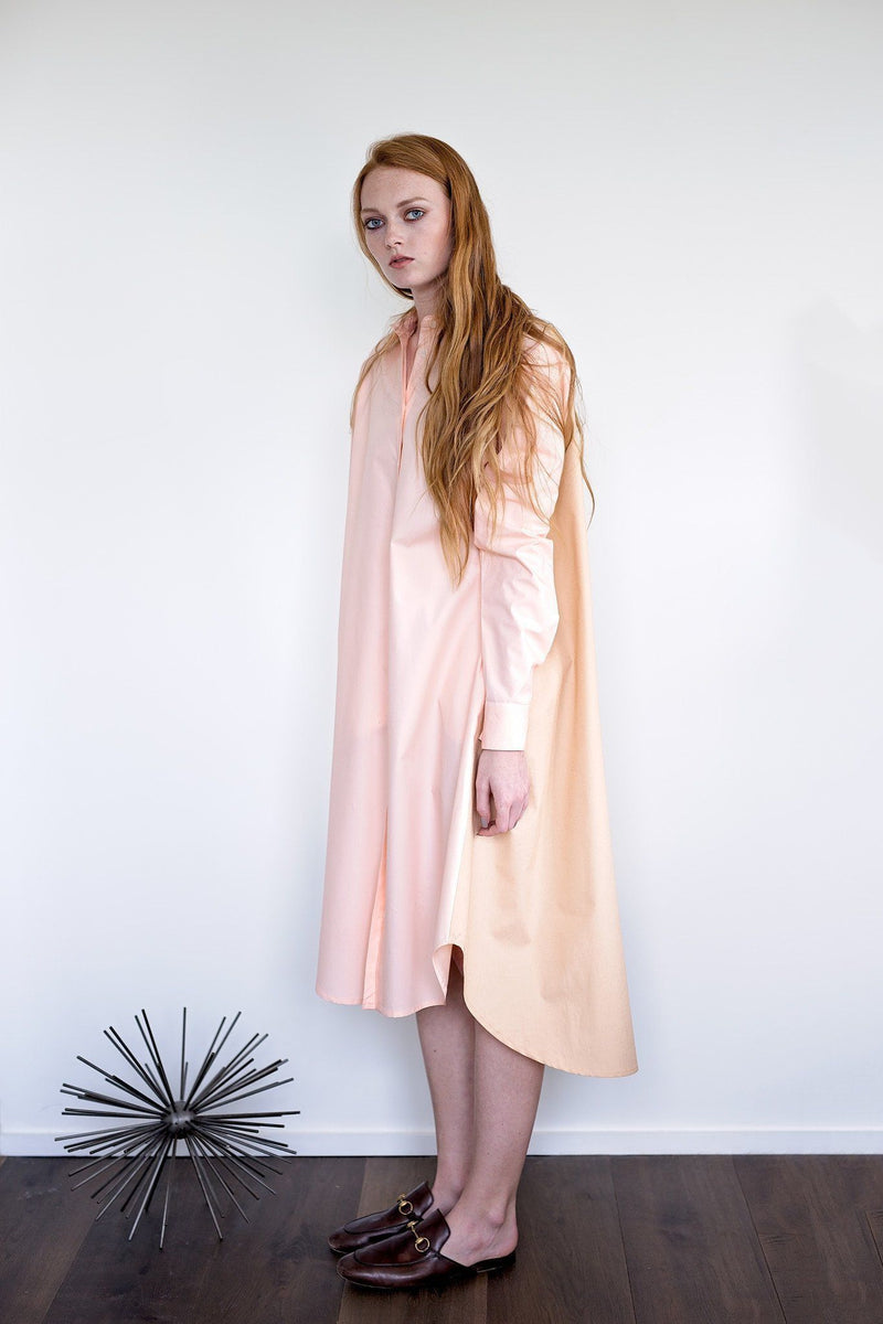 Maaya Short Length - Hazelnut/Blush Poplin - PROJECT 6, modest fashion