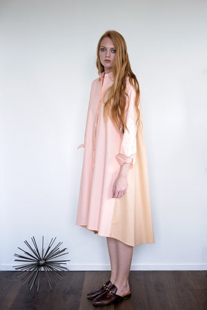 Maaya Medium - Hazelnut/Blush Poplin - PROJECT 6, modest fashion