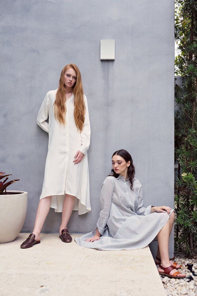 Maaya Medium - Ivory Crepe - PROJECT 6, modest fashion