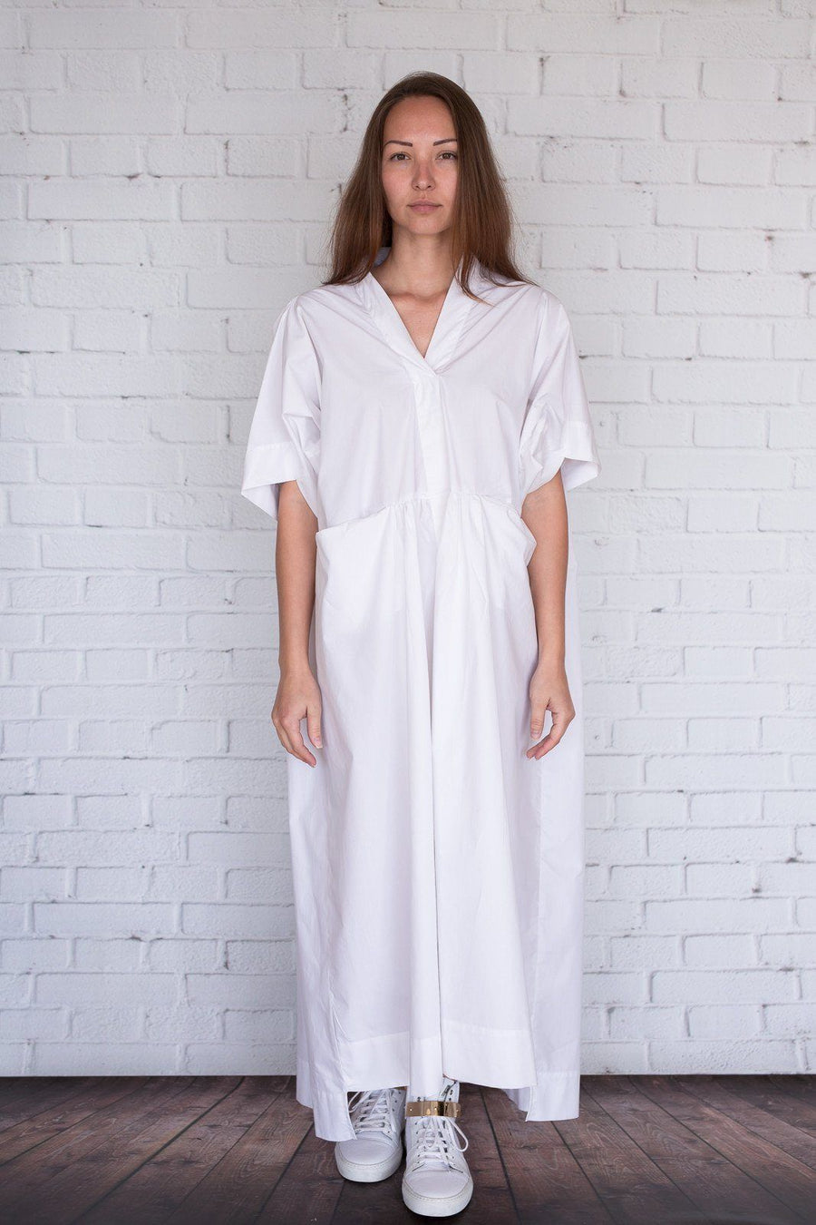 Okal - White - PROJECT 6, modest fashion