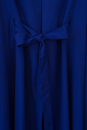 Swing Dress - Cobalt Crepe
