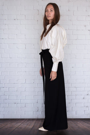 Yuuka Blouse - Ivory - PROJECT 6, modest fashion