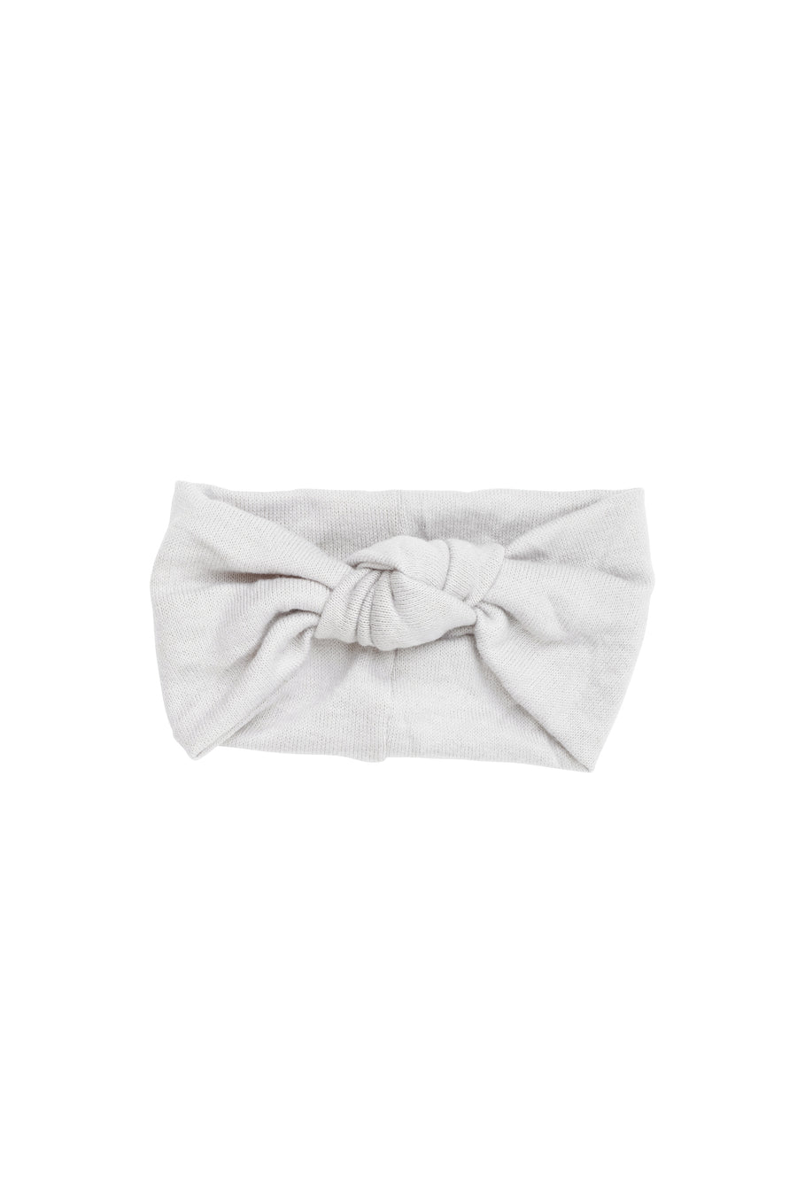 Knot Wrap - Winter White Wool