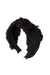 Knot Fringe Headband - Black - PROJECT 6, modest fashion