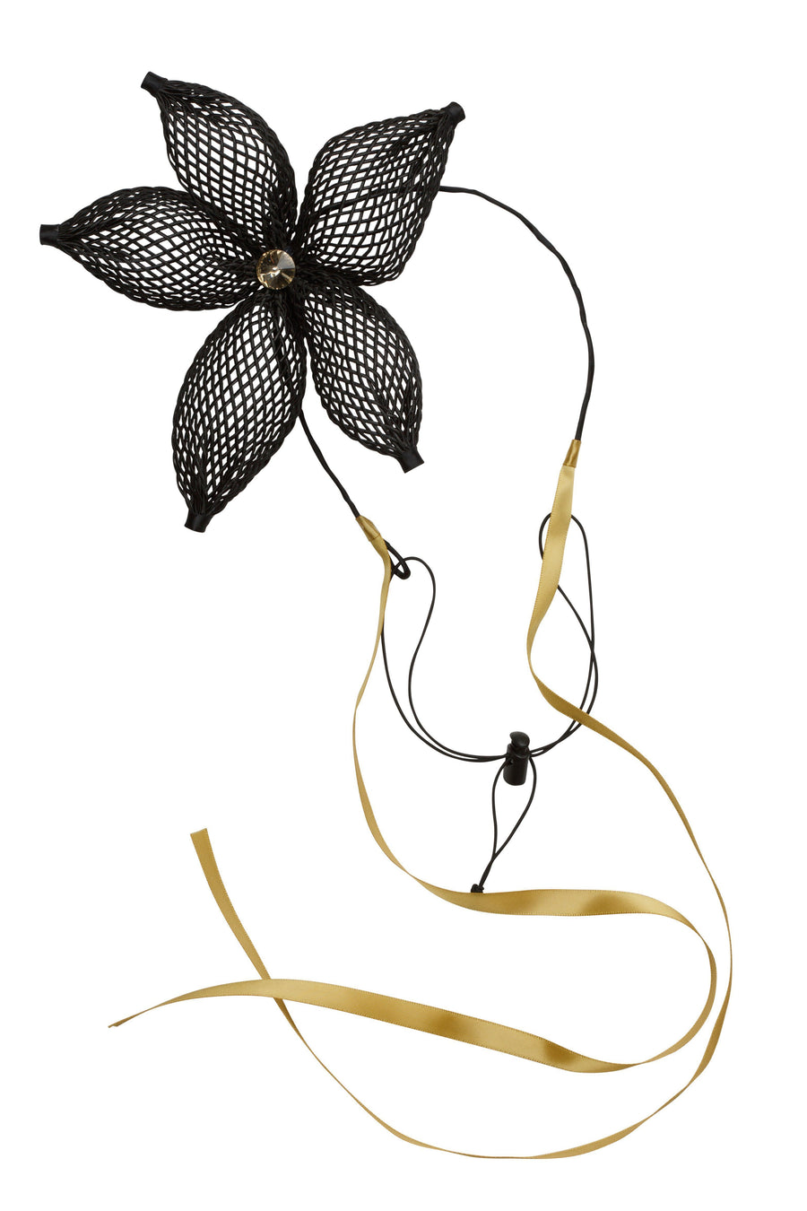 Mesh Orchid Wrap - Black