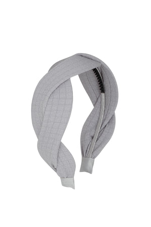 Octagon Headband - Light Grey