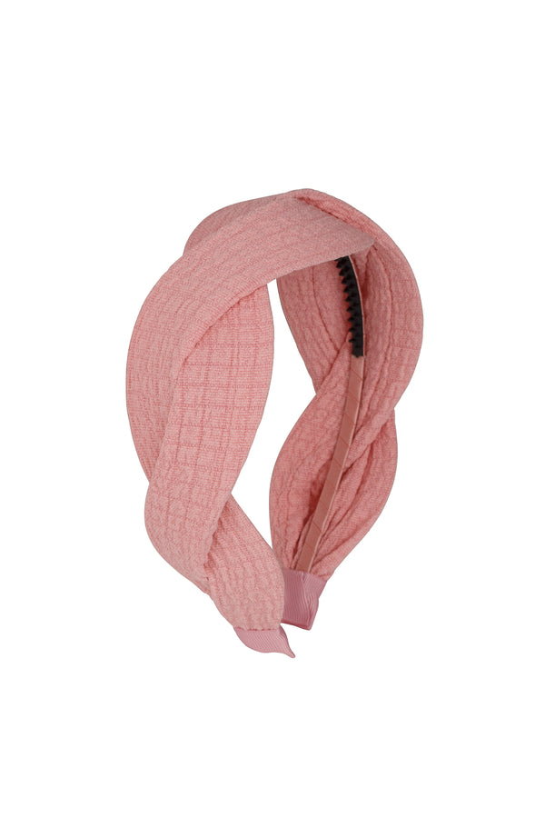 Octagon Headband - Pink - PROJECT 6, modest fashion