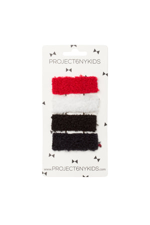 Olly Log Clips Set of 4 - Basic Set - PROJECT 6, modest fashion
