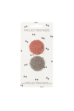 Olly Rounds Set of 2 - Grey and Rose - PROJECT 6, modest fashion