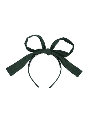 Party Bow Taffeta - Hunter Green - PROJECT 6, modest fashion