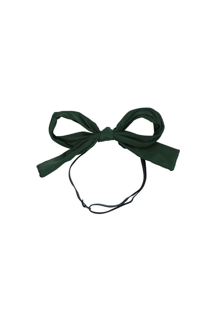 Party Bow Taffeta Wrap - Hunter Green - PROJECT 6, modest fashion