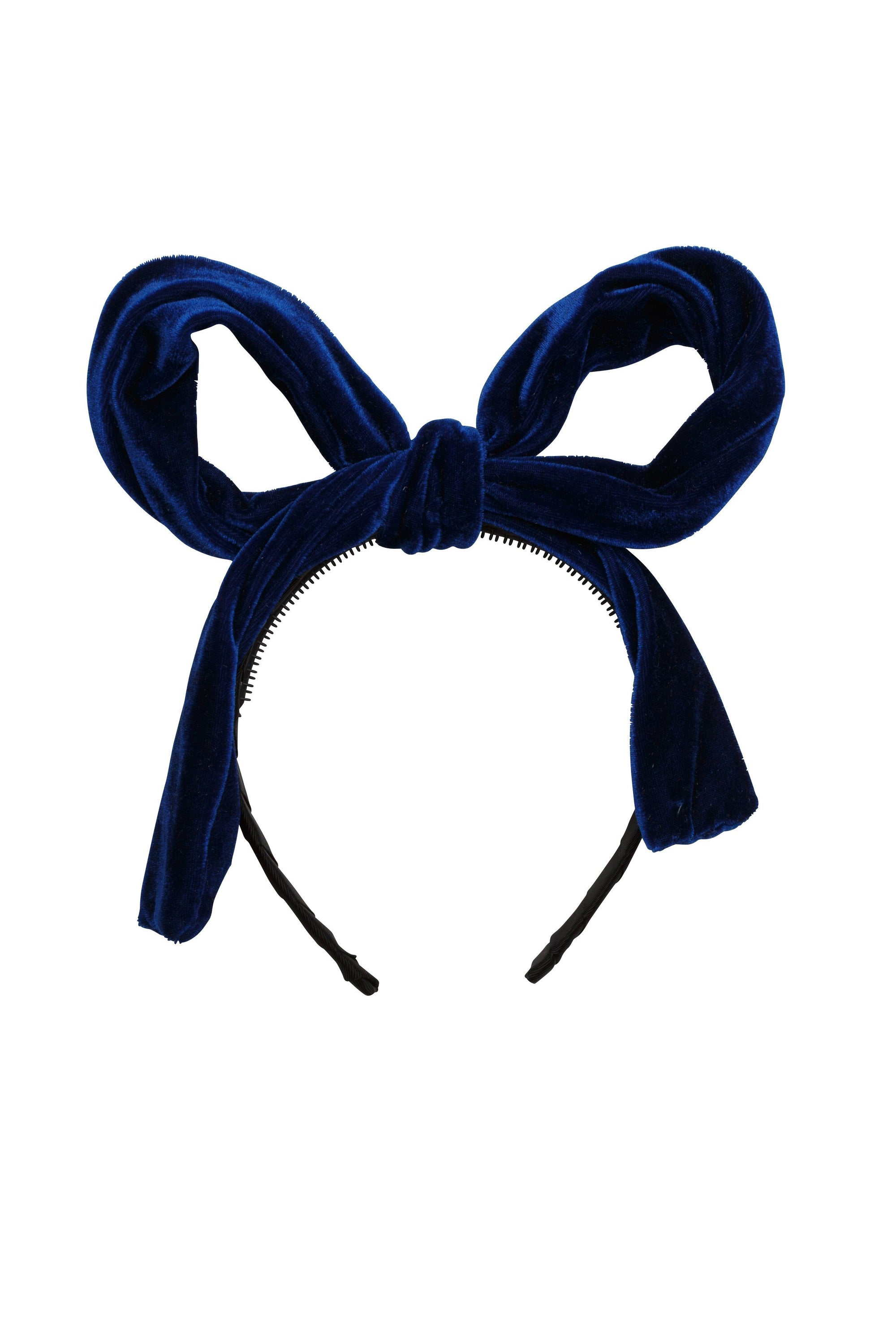 Party Bow - Cobalt Velvet - PROJECT 6, modest fashion