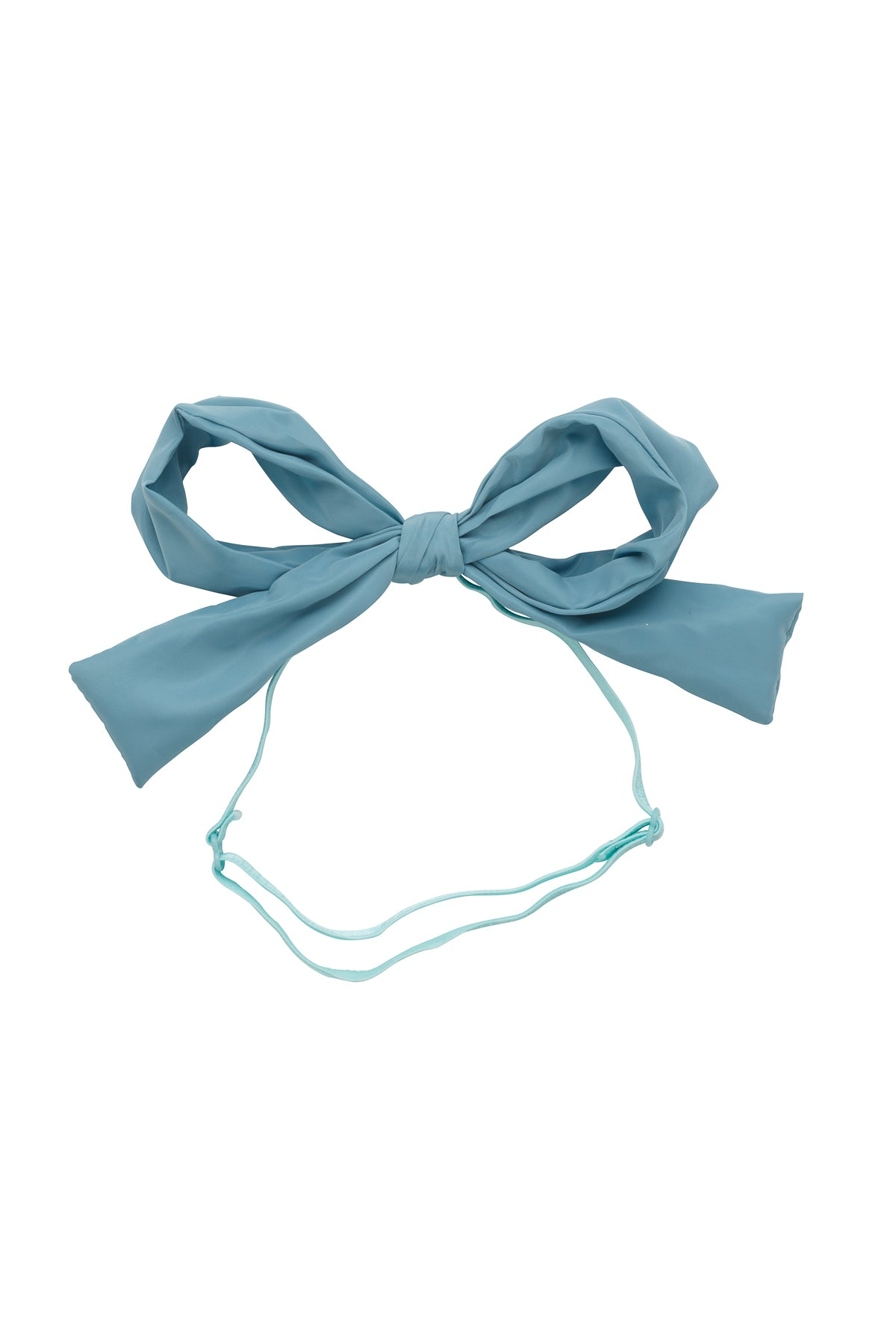 Party Bow Taffeta Wrap - Light Turquoise - PROJECT 6, modest fashion