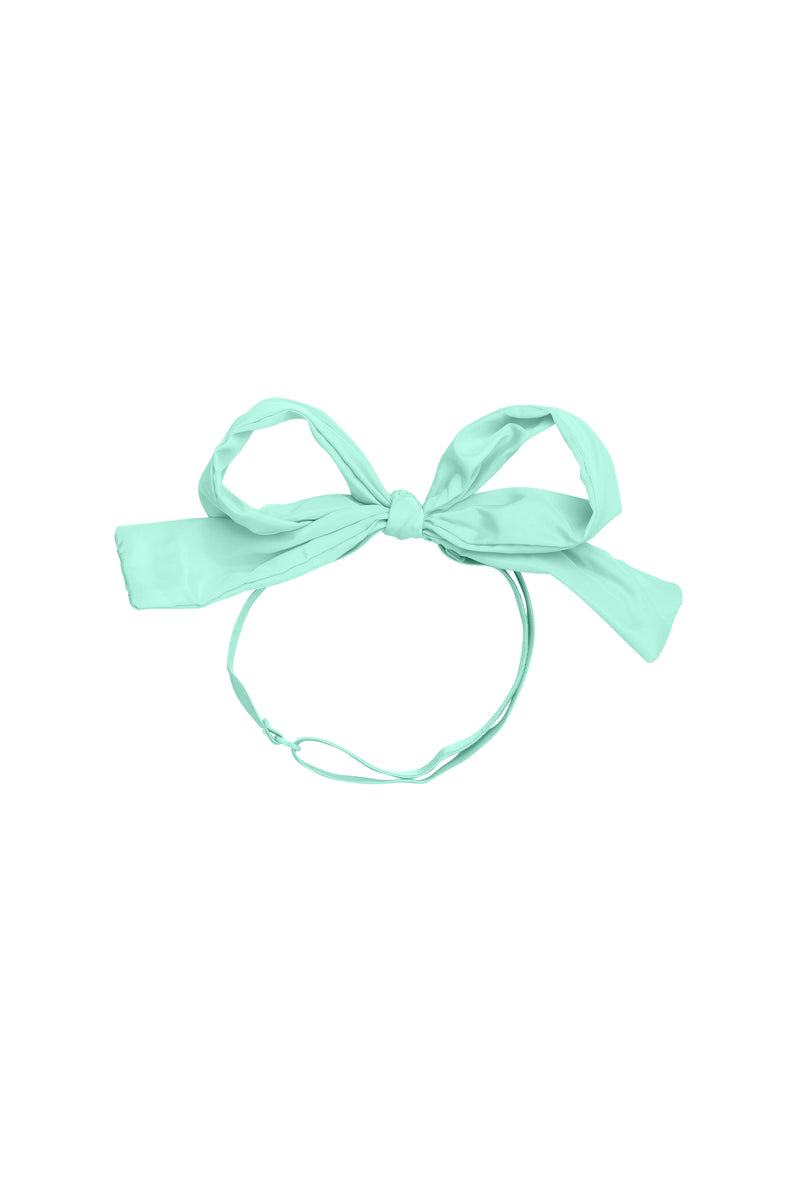 Party Bow Taffeta Wrap - Mint - PROJECT 6, modest fashion