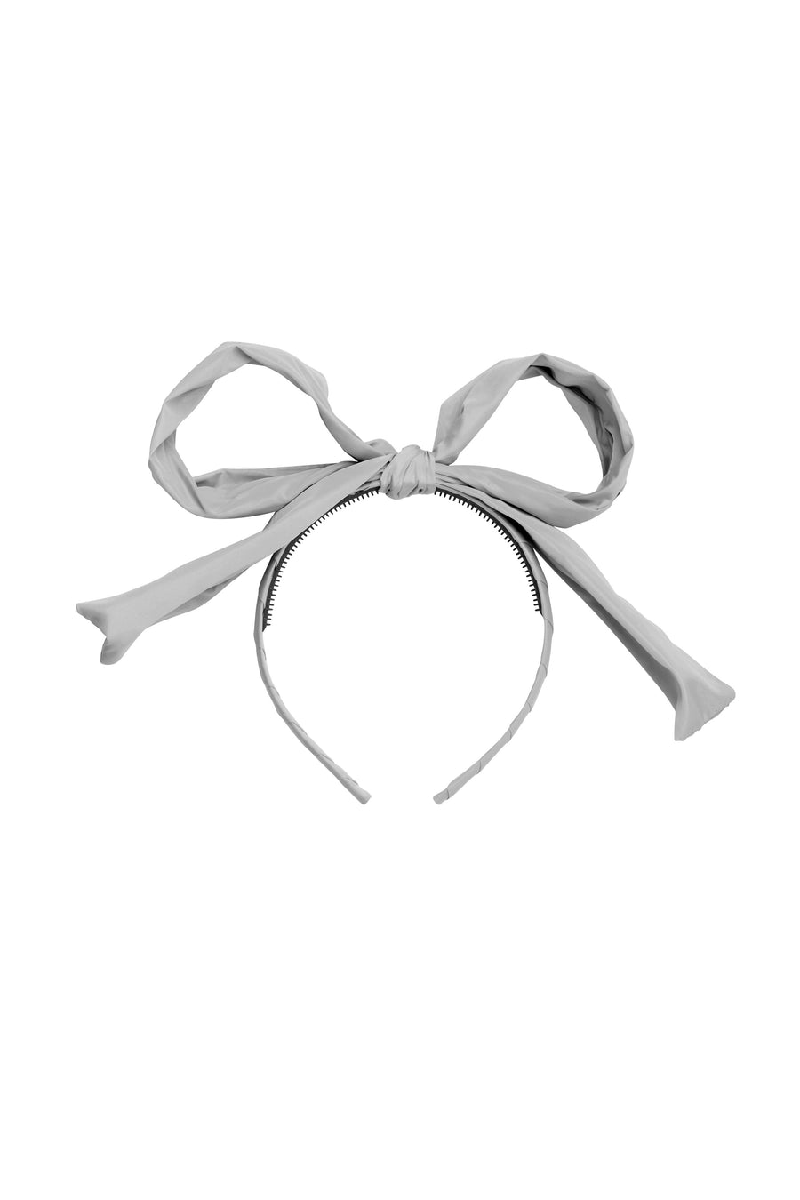 Party Bow Taffeta - Grey