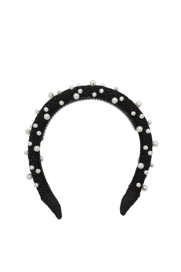 Pearl Queen Women's Headband - Black - PROJECT 6, modest fashion