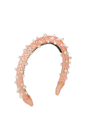 Pearl Queen Women's Headband - Rose