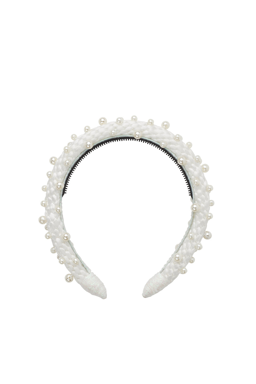 Pearl Queen Women's Headband - Dove White