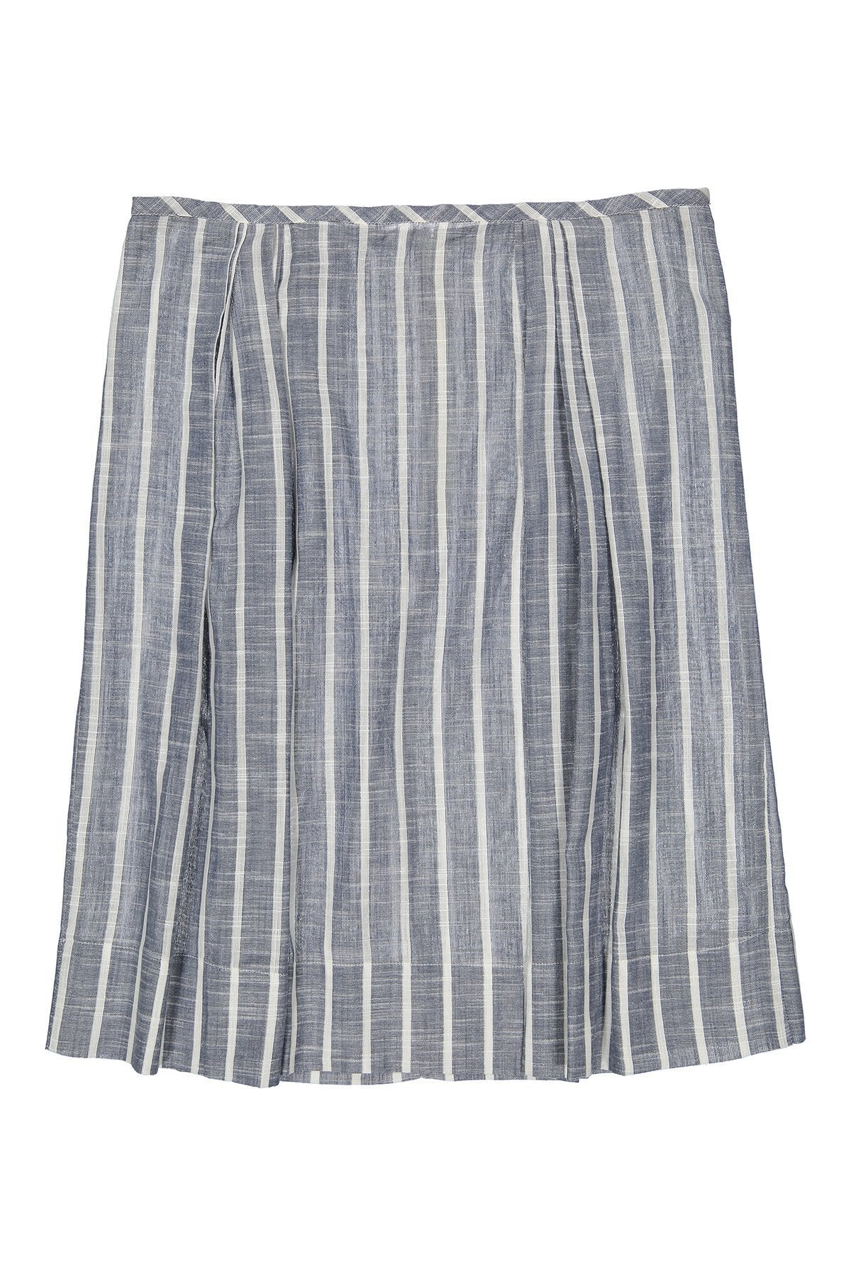PINTO - Striped Chambray Cotton - PROJECT 6, modest fashion