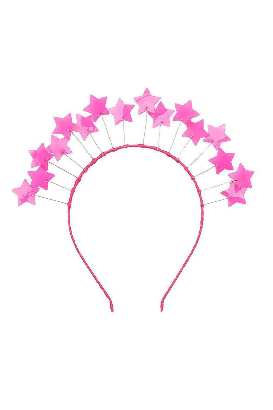 Floating Crown - PVC Hot Pink Stars - PROJECT 6, modest fashion