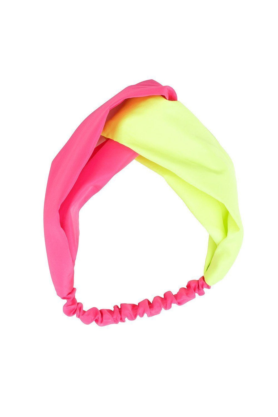 Wrap it Up - Neon Pink/Yellow Taffeta - PROJECT 6, modest fashion