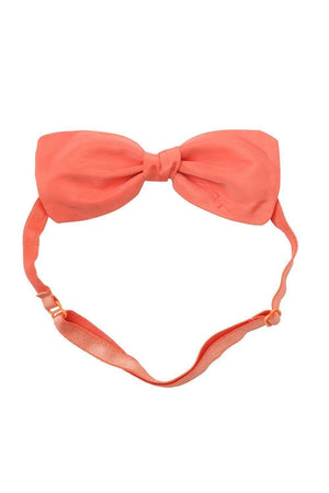 Bow Chapeau Baby - Melon Taffeta - PROJECT 6, modest fashion