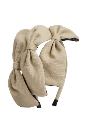 Bow Chapeau - Sand - PROJECT 6, modest fashion