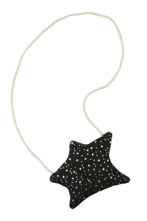 Shooting Star Purse - Black Star